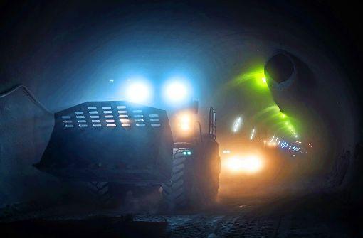Über die Risiken beim Tunnelbau im Anhydrit diskutierte der Lenkungskreis von Stuttgart 21 ausführlich. Foto: Lichtgut/Max Kovalenko