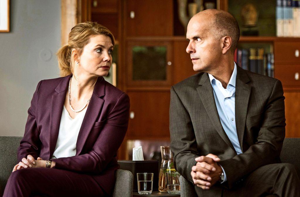 Ehekrieg mit Annette Frier und Christoph Maria Herbst Foto: ZDF