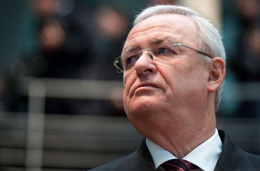 Ex-VW-Chef Winterkorn in den USA angeklagt