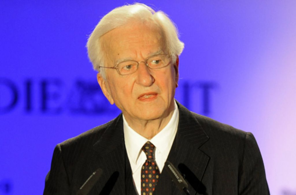 Richard von Weizsäcker, 1920 im Neuen Schloss von Stuttgart geboren, war Regierender Bürgermeister von Berlin, bevor er 1984 für zehn Jahre das höchste Amt im Staate übernahm. Foto: AP
