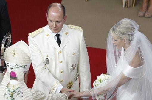 Albert und Charlene sind verheiratet