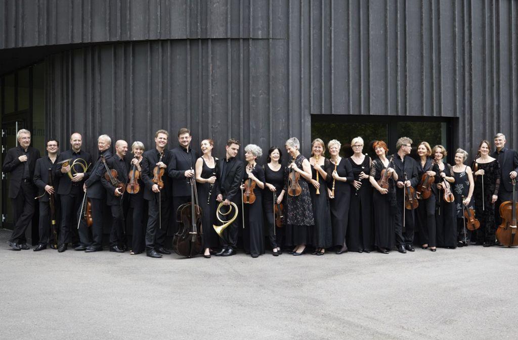 Das Freiburger Barockorchester Foto: Annelies van der Vegt