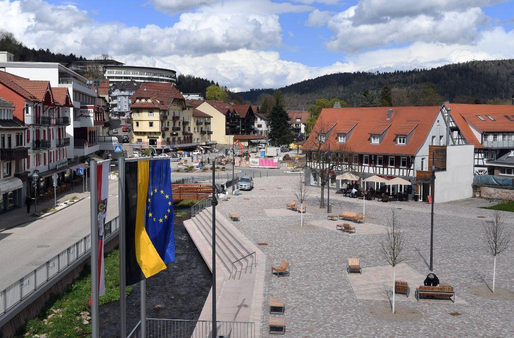 In Bad Herrenalb wird über die künftige Kreiszugehörigkeit der Stadt gestritten. Foto: dpa
