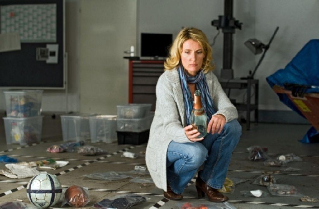 Maria Furtwängler als Kommissarin Charlotte Lindholm. Weitere Szenen sehen Sie in der Fotostrecke. Foto: ARD