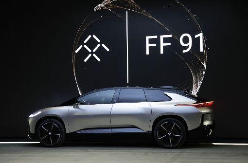 Faraday Future präsentiert neues Elektroauto FF91