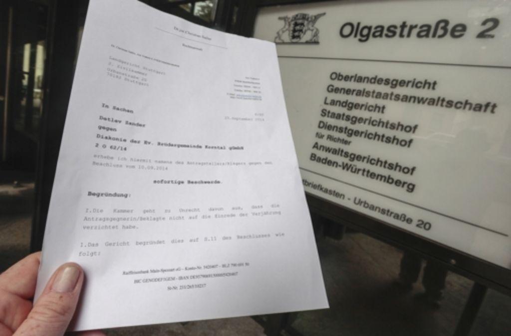 Das OLG hat die Beschwerde zurückgewiesen, mit der Detlev Zander sich gegen die Ablehnung der Prozesskostenhilfe durch das Landgericht wehrte. Foto: Simon Granville / factum