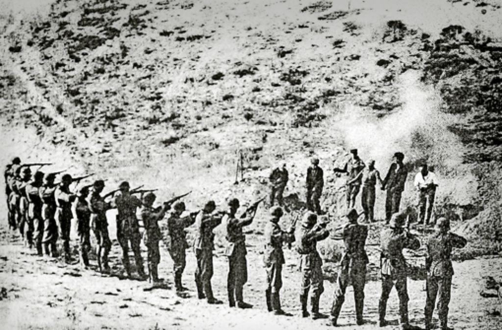 Erschießungen nahe Sant Anna: bei dem Massaker 1944 starben mehr als 500 Menschen Foto: dpa