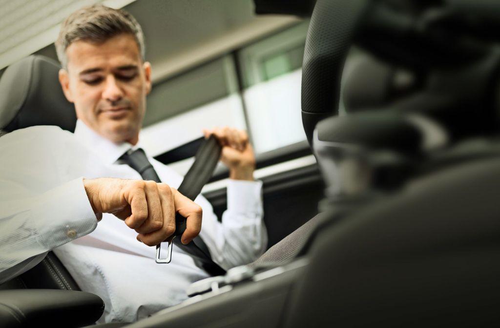 Anschnallen ist nicht für jeden Autofahrer selbstverständlich. Foto: mauritius images