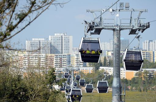 Stuttgarter sehen mögliche   Seilbahn positiv