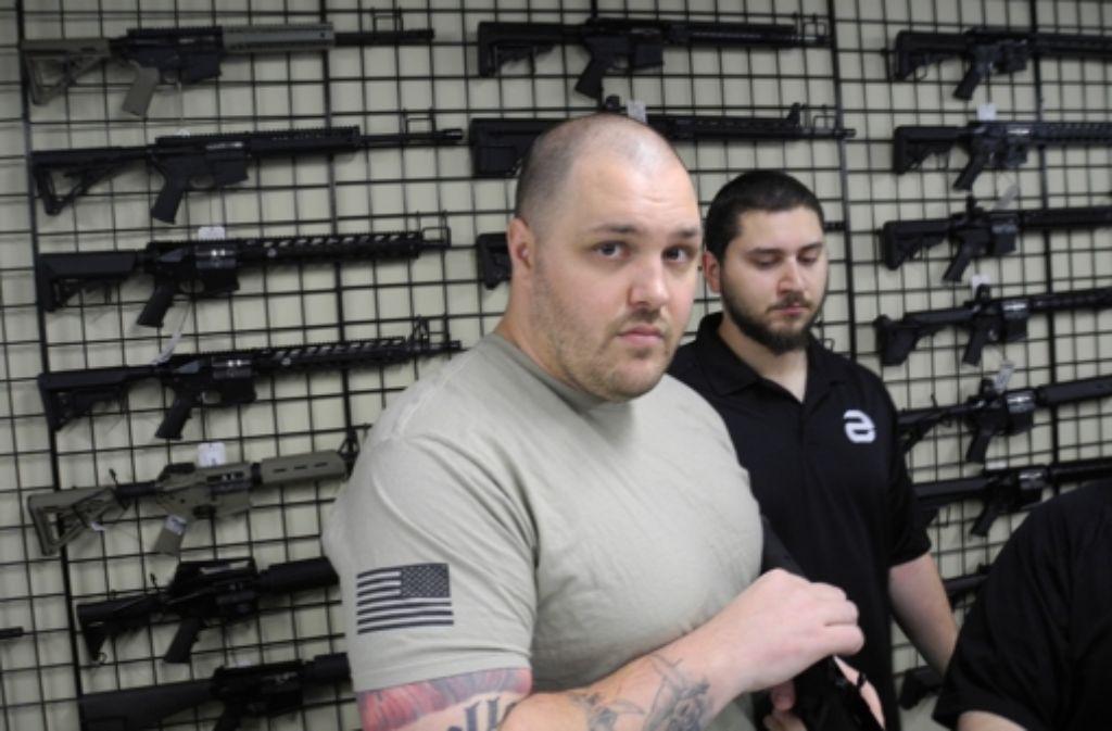 Andy Raymond hat den Vorstoß für kindersichere Waffen wieder aufgegeben. Foto: Fras