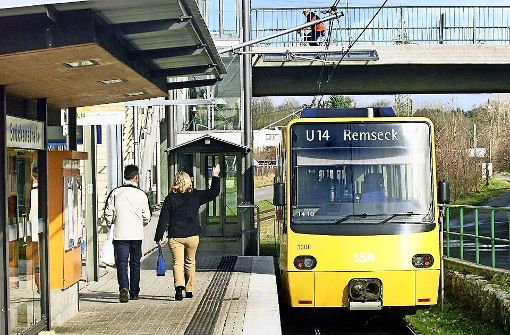 Die U14 fährt ab Dezember aus dem Süden nicht mehr an den Hauptbahnhof. Foto: Archiv