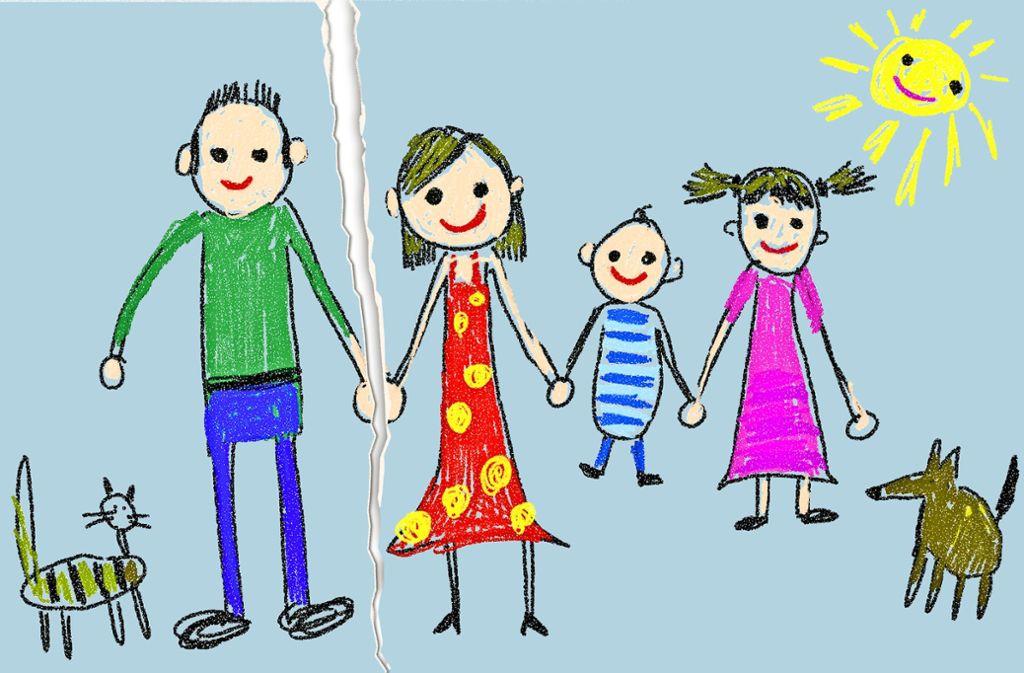 Ein Idealbild der Kleinfamilie gibt es nicht. Foto: