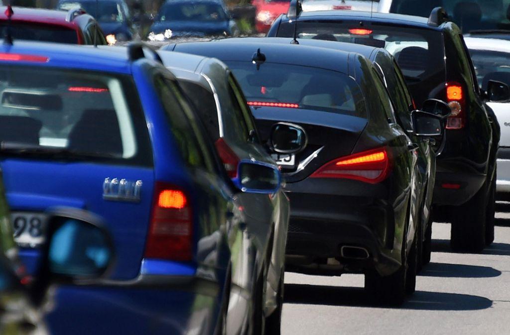 Auf dem Fasanenhof stehen die Autos oftmals Stoßstange an Stoßstange. Foto: dpa