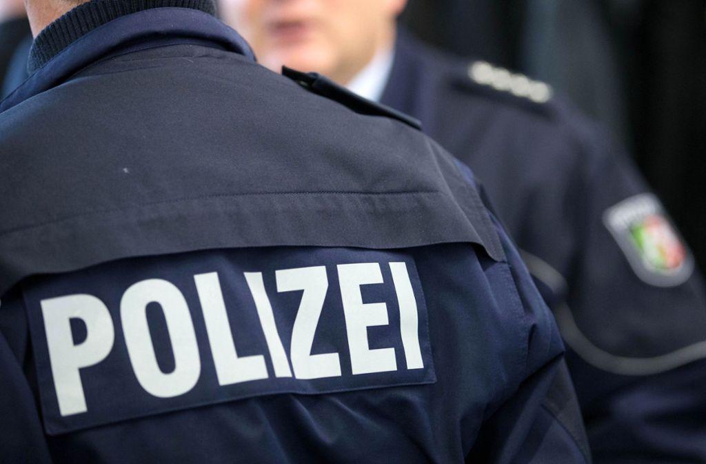 Die Polizei nahm den Mann in ihre Obhut. (Symbolbild) Foto: dpa