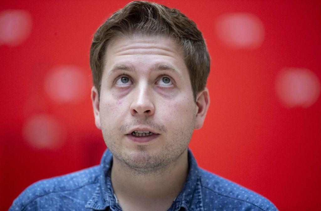 Kevin Kühnert will für den Parteivorstand kandidieren. Foto: dpa/Christoph Soeder