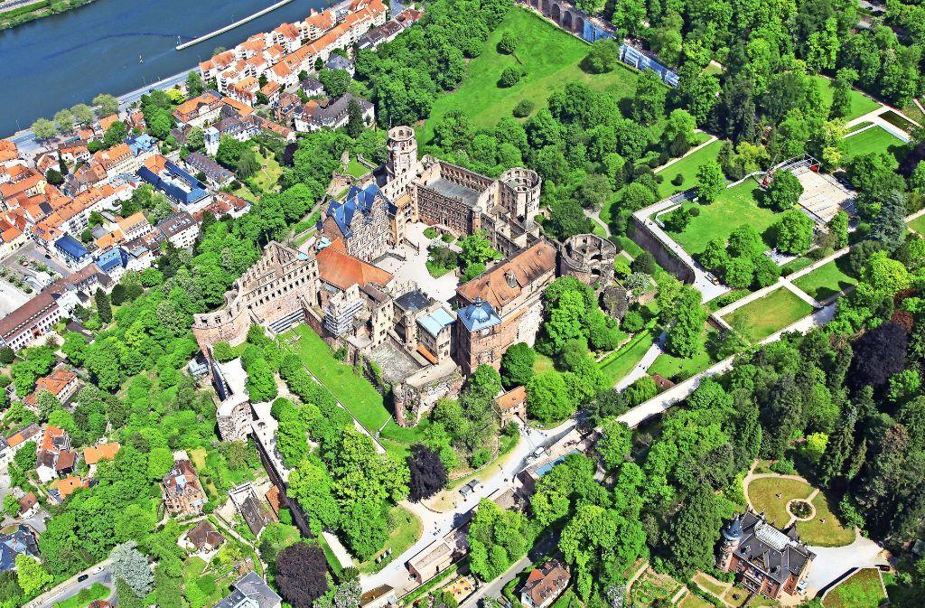 Der Inbegriff deutscher Romantik: Das Heidelberger Schloss ist seit eh und je ein Publikumsmagnet – und zieht pro Jahr mehr als eine Million Besucher an. Foto: Kay Sommer