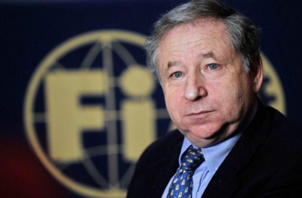 Jean Todt bleibt FIA-Chef. Foto: dpa