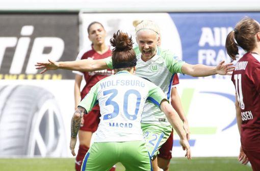 Frauen des VfL Wolfsburg zum vierten Mal deutscher Meister