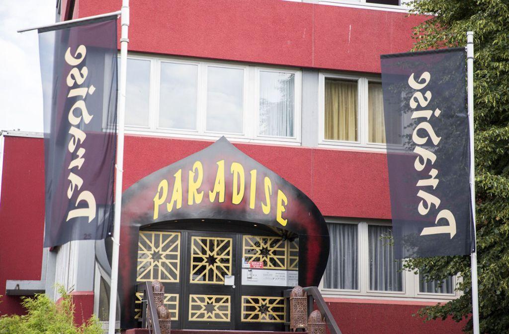 Auch das Paradise ist wegen der Coronakrise geschlossen. Foto: /7aktuell/Marcel Heckel