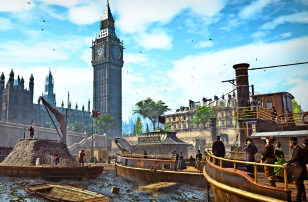 Nicht nur die Grafik, auch der Sound soll den Computerspielern das Gefühl geben, eine Großstadt im Zeitalter der Industrialisierung zu durchstreifen. Foto: Ubisoft