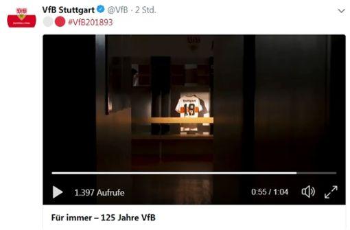Zeigt der VfB Stuttgart hier sein neues Trikot?