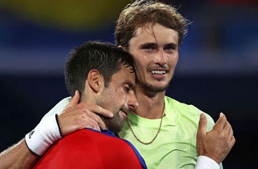 Alexander Zverev geht mit breiter Brust ins Halbfinale gegen Djokovic