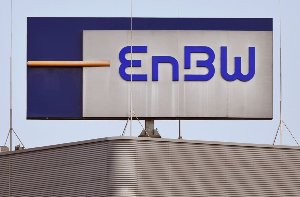 Das leuchtende Blau täuscht: Die EnBW schreibt tiefrote Zahlen Foto: dpa