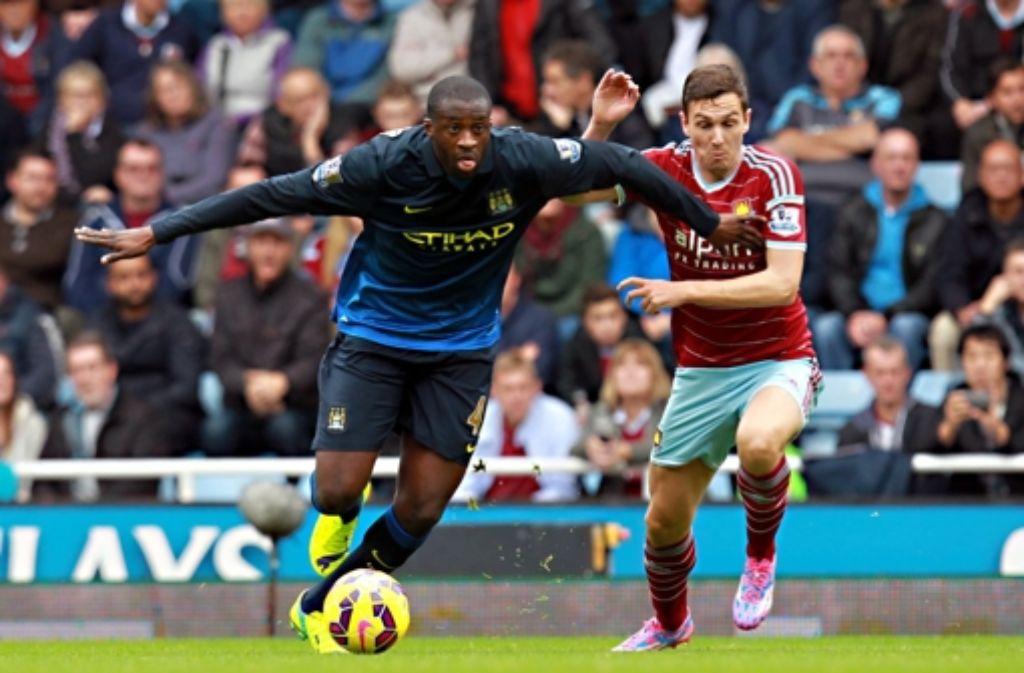 Yaya Touré (Manchester City). Foto: EPA