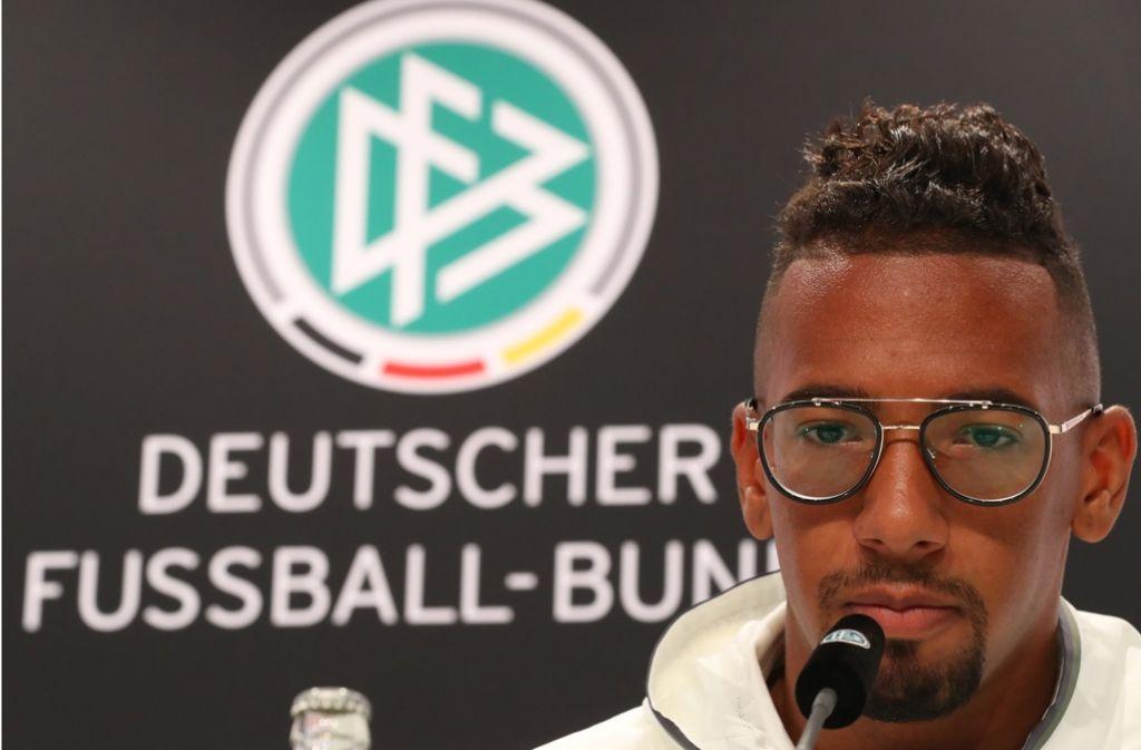 Der neue Wortführer der DFB-Elf: Jerome Boateng Foto: dpa