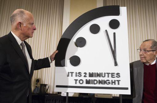 Countdown zum Weltuntergang: Noch zwei Minuten bis Armageddon