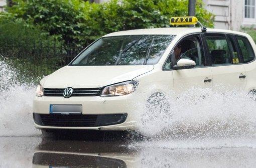 In Vaihingen sind Überflutungen möglich