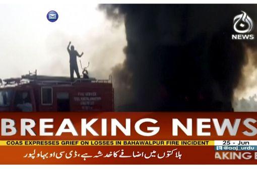 123 Menschen sterben bei Tanklaster-Explosion