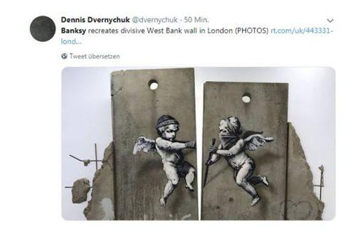 Banksy verschenkt seine Werke