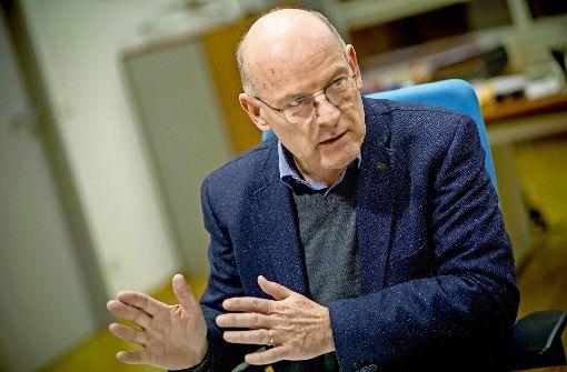 Verkehrsminister Hermann plädiert für teilweise Fahrverbote. Foto: Lichtgut/Piechowski