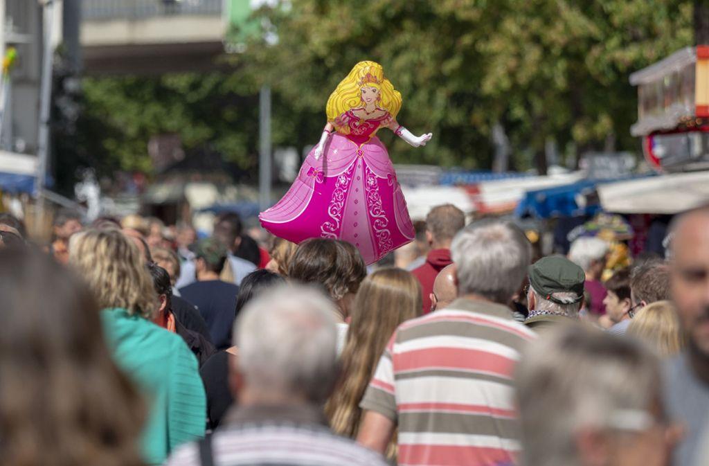 300.000 Besucher waren in diesem Jahr auf dem Pferdemarkt in Bietigheim-Bissingen zu Gast. Foto: factum/Weise