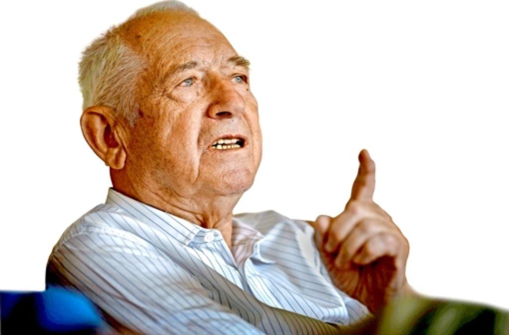 Franz Josef Dazert bereut, dass er einst Heinz-Horst Deichmann abgesagt hat Foto: Stoppel