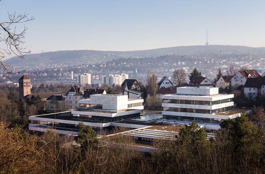 Aufgehübscht: das Schulzentrum Nord Foto: Guhl