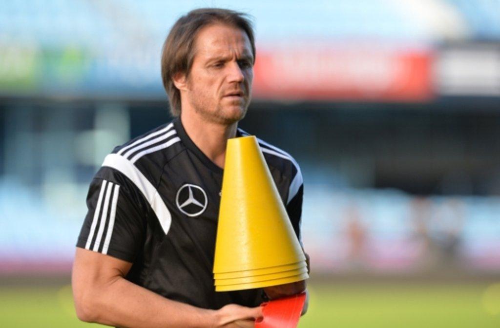 Thomas Schneider, Co-Trainer der Nationalelf Foto: dpa