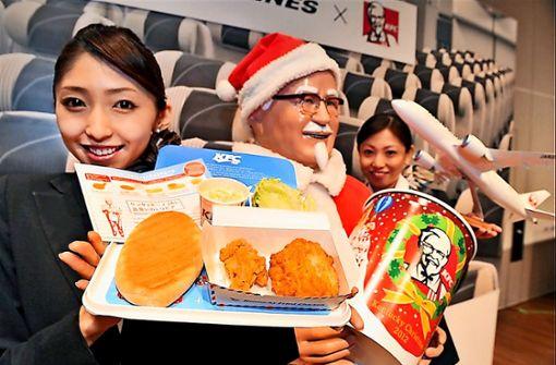 In Japan gehören Chicken Wings zum Weihnachtsmenü