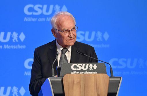 Bayerns Ex-Ministerpräsident mit Corona infiziert