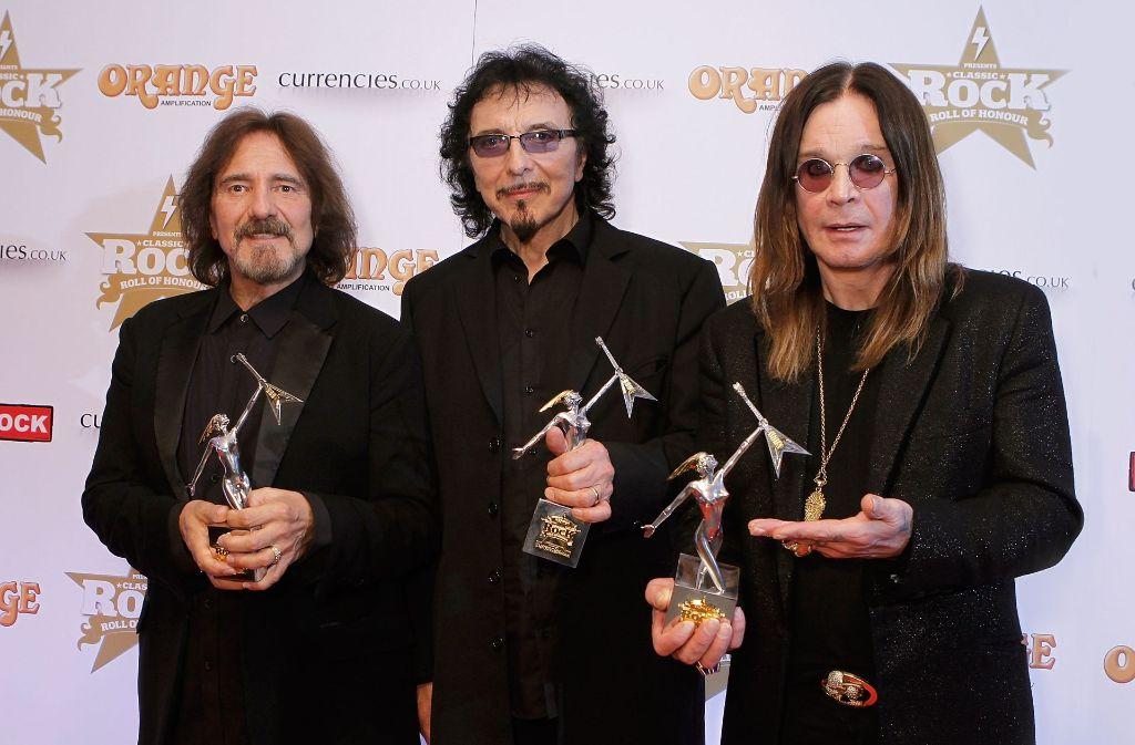 Black Sabbath haben offiziell ihre Band-Karriere am 4. Februar in Birgmingham beendet. (Archivbild) Foto: Getty Images Europe