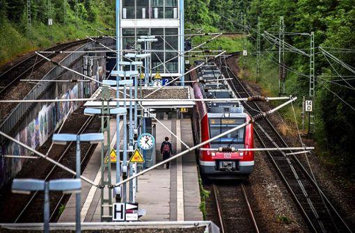 Ein ständiges Auf und Ab für die S-Bahnkunden