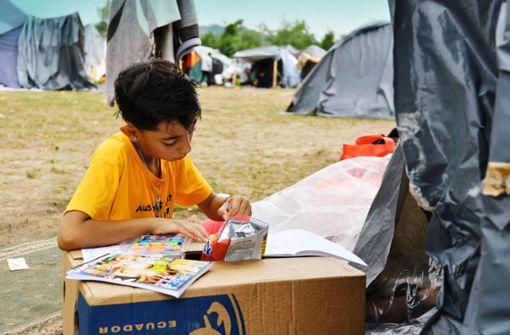 Flüchtlingselend in Bosnien