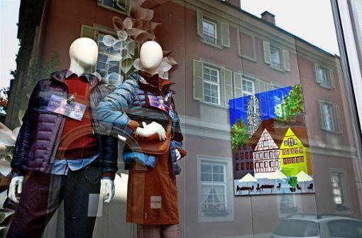 Finessen in der Schaufenster-Galerie