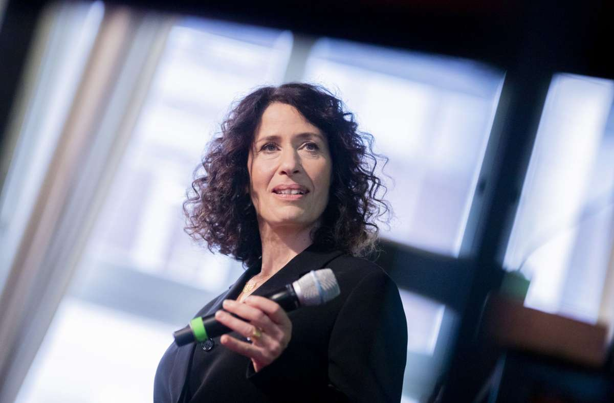 Einst Landeschefin, jetzt Spitzenkandidatin der Grünen: Bettina Jarasch Foto: dpa/Christoph Soeder