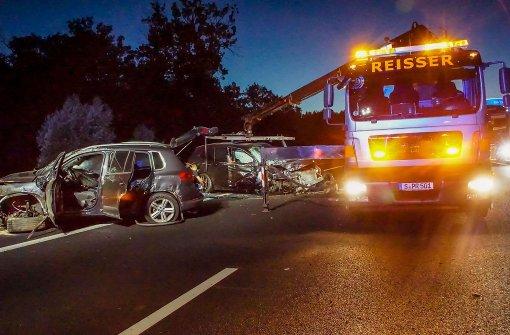 Unfall auf der A 8: 86 000 Euro Schaden