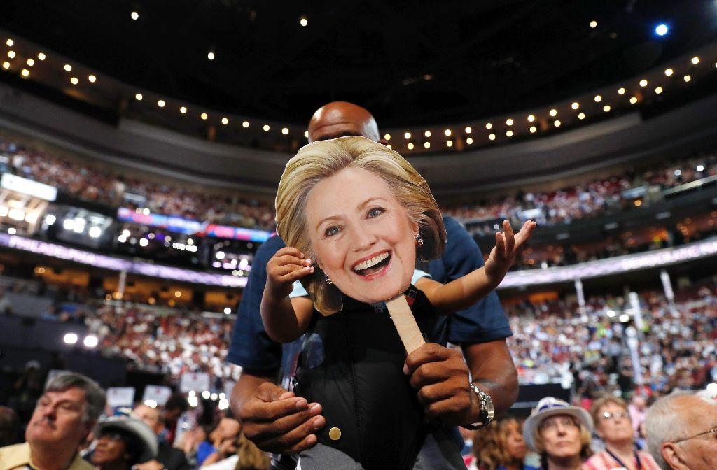 Hillary Clinton ist zur Kandidatin der Demokraten für das US-Präsidentenamt gewählt worden. Foto: dpa