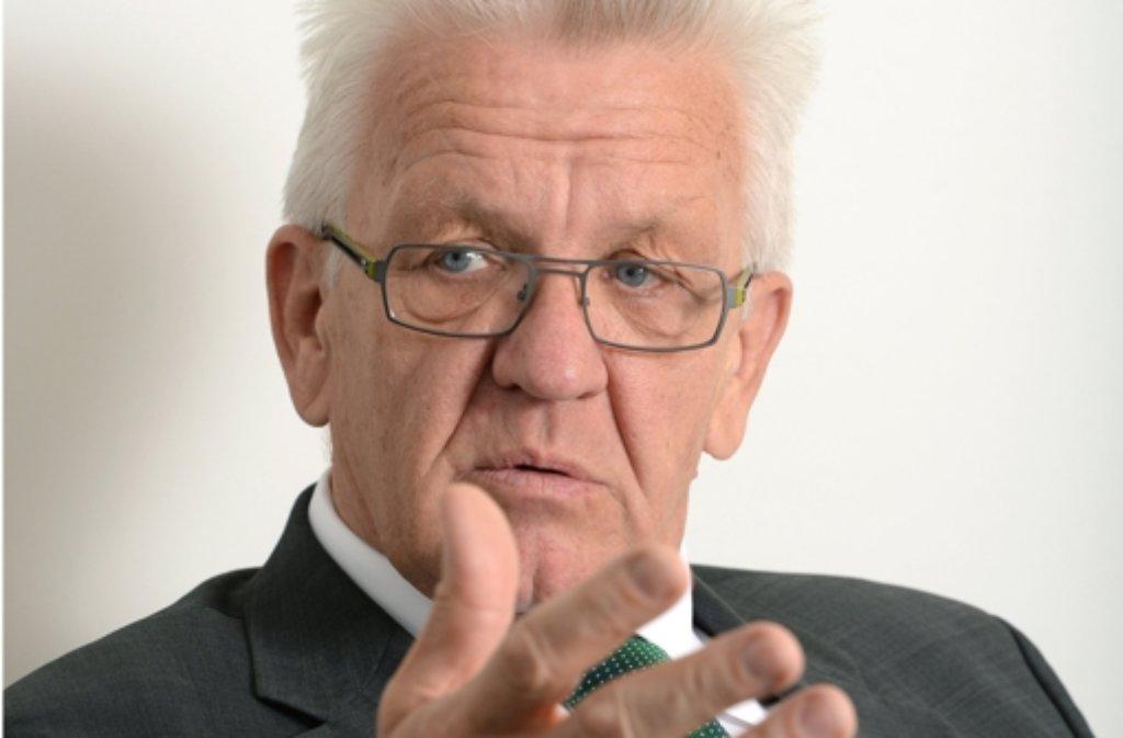 Winfried Kretschmann würde das Kiffen gerne legalisieren. Foto: dpa