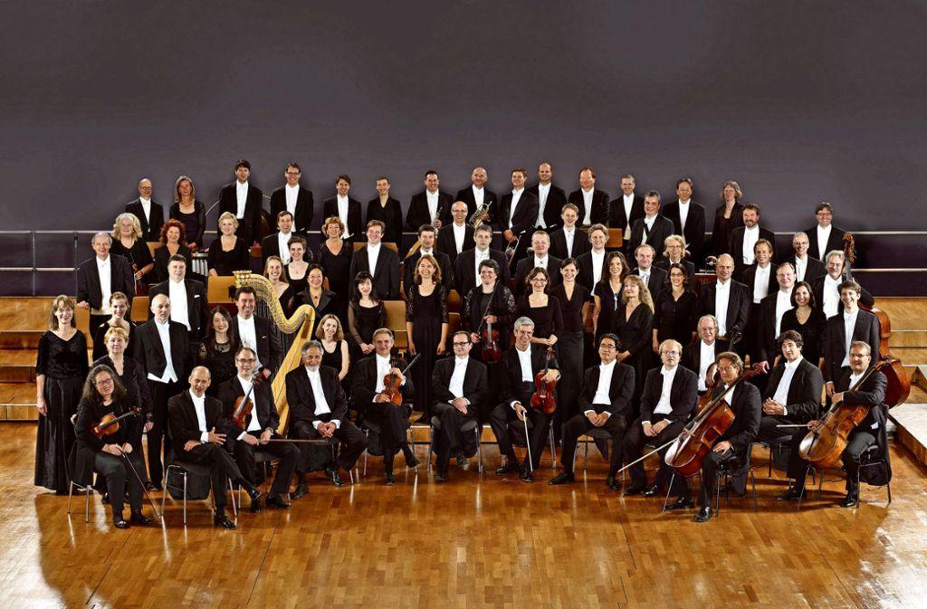 Die Stuttgarter Philharmoniker Foto: Thomas Niedermueller/Philharmoniker