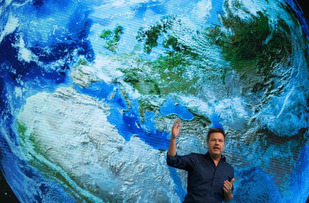 Robert Habeck will die Grünen als Bewegungspartei neu positionieren. Foto: dpa
